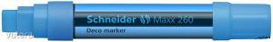 Krétamarker, 5-15 mm, SCHNEIDER Maxx 260, világos kék