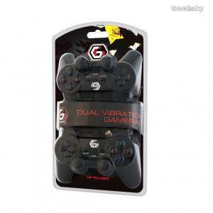 Gembird JPD-UDV2-01 USB Gamepad Black