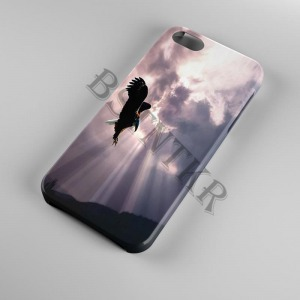 madaras madár mintás Samsung Galaxy A50 tok hátlap tartó