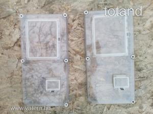 Fogyasztásmérő szekrény előlap Csatári Plast 60x30