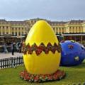 Húsvéti vásár a Schönbrunn Kastély parkjában