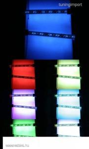 LED MOTO KIT 7 szín IN ONE