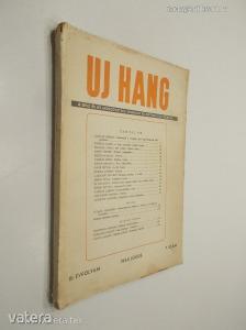 Uj Hang III. évfolyam 7. szám 1954. július (*89)