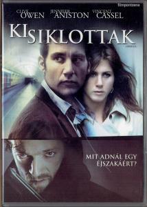 Kisiklottak (2005) DVD fsz: Clive Owen, Jennifer Aniston, Vincent Cassel - magyar kiadású ritkaság