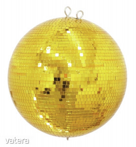 EUROLITE - Mirror Ball 50cm gold