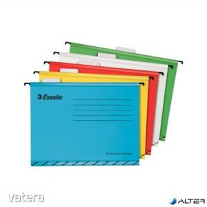 Függőmappa, újrahasznosított karton, A4, ESSELTE 'Classic', vegyes színek