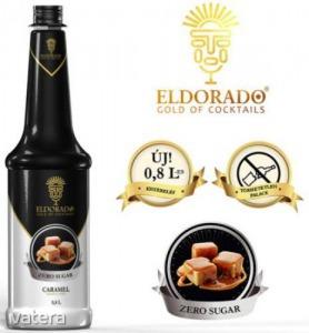 Eldorado cukormentes karamell szirup 0,8 l