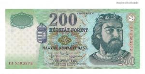 2003 200 forint FA UNC