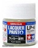 Tamiya 82104 LP-4 Flat White - Flat