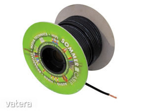 SOMMER CABLE - DMX cable 2x0.34 100m bk BINARY 234