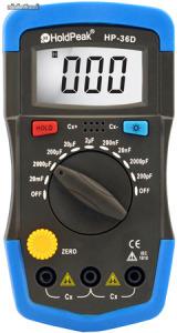 HOLDPEAK 36D digitális kapacitásmérő