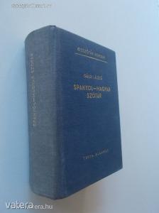 Gáldi László: Spanyol-magyar szótár / kisszótár (*88)