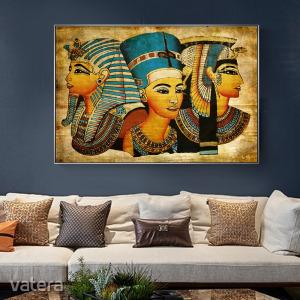 Egyiptomi stílusú vászonkép