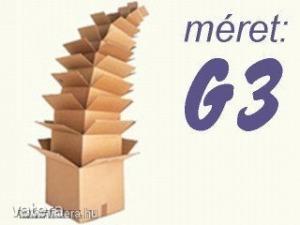 Kartondoboz ( Új! ), G3 méret, 26x36x11 cm