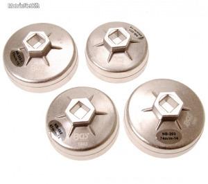 BGS-8384 Olajszűrő kupak készlet, 65 - 75 mm