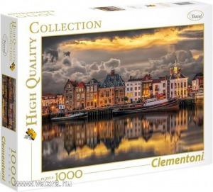 Clementoni 1000 db-os puzzle - Meseszép Hollandia (39421)