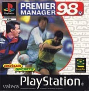 PS1  Játék Premier Manager 98