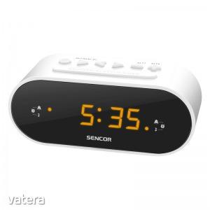 Sencor SRC 1100 W - Ébresztőórás rádió, LED kijelző, 5W