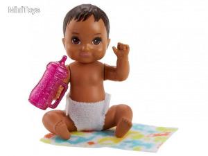 Barbie: kisbaba kiegészítővel - 10 cm, többféle