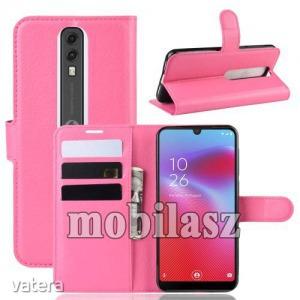 Vodafone Smart V10, WALLET notesz mobiltok, Magenta