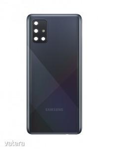 Samsung A715 Galaxy A71 (2020) fekete hátlap