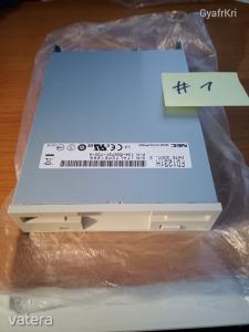 NEC 3.5 inch-es 1.44 MByte új floppy disk meghajtó (FD1231H)  #1
