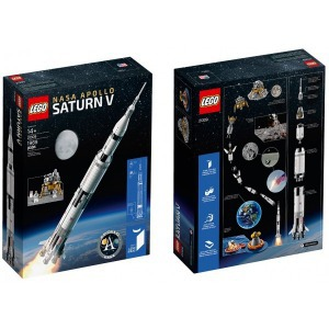 LEGO Ideas - NASA Apollo Saturn V (21309) - Játék