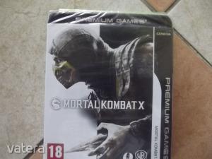 Pc-52  Pc Eredeti Játék : Mortal Kombat X Premium Edition  Új Bontatlan