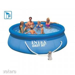 Intex Easy Set 28142NP felfújható medence 396 x 84 cm-es szűrőszivattyúval