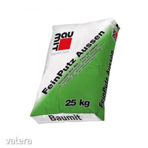 Habarcs, fehér Baumit FeinPutz Aussen, kültér, 25 kg