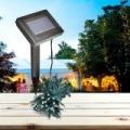 100 LED-es napelemes kerti fényfüzér - 20 méter