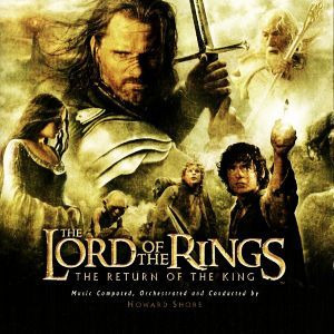 FILMZENE - Lord Of The Rings Return Of The King CD