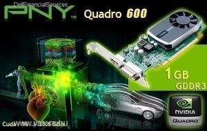 NVidia Quadro 600   1 Gb 128 bit GDDR3