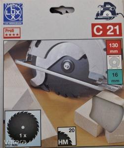 Lux 130 mm-es körfűrészlap 20 foggal (Bosch, Metabo)