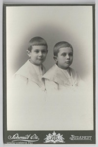 Gyermekportré, 1906, Schmidt Ede műterme, Budapest