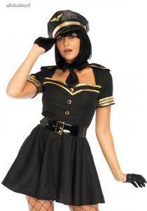 Leg Avenue kacér pilótanő kosztüm (LO85643)
