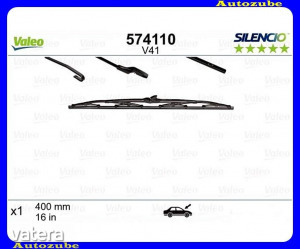 FIAT  ULYSEE  1  1994.05-2002.08  Ablaktörlő  lapát  Hátsó  1db/400mm  (V41)    {VALEO}  SILENCIO...