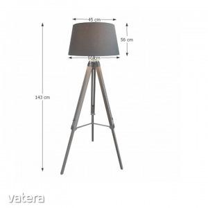 Állólámpa, szürke, JADE Typ 11 8008-39