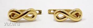 Végtelen jeles arany fülbevaló (ZAL-Au 92030)