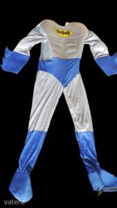 Felnőtt szürke-kék izmosított jelmez - Batman