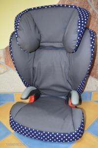 Új üléshuzat Römer Kid Plus típusú ülésre