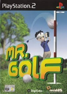 PS2  Játék Mr Golf