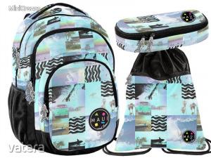 Paso hátizsák, iskolatáska szett, MAUI, retro tengerpart