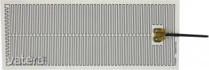 Öntapadó fűtőszálas fűtőfólia 300x130mm, 230V, 65W