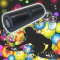 Charge 5+ vízálló bluetooth és Wifi hangszóró henger - Fekete