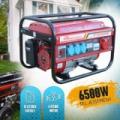 Powertech 6500W generátor-berántós