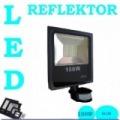 Led reflektor fényvető mozgásérzékelős 100 w kültéri