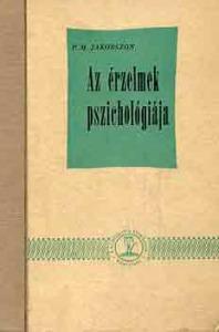 P.M. Jakobszon: Az érzelmek pszichológiája