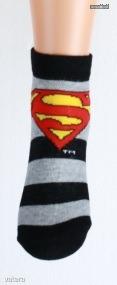 Superman mintás bokazokni (27/30,31/34)