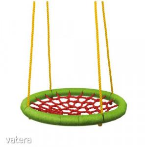 Woodyland fészekhinta, pókhinta - 83 cm - zöld-piros-91412